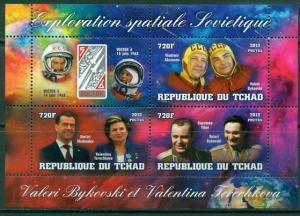TCHAD CHAD SHEET TERESHKOVA SOVIET SPACE EXPLORATION