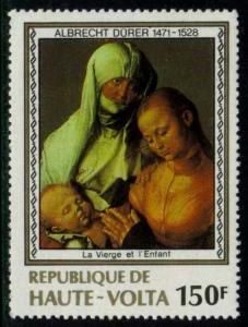 Burkina Faso #482 Virgin and Child by Duerer; MNH (1.40)