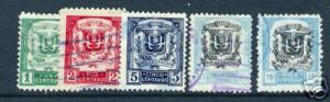 103G DOMINICAN REP. DOMINICANA 233-236A VFU