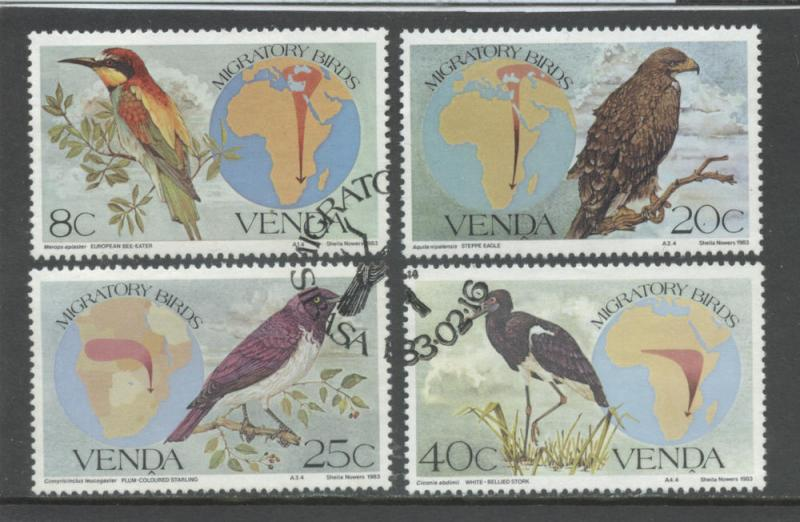 South Africa - Venda 100-103. F-VF  Used cto