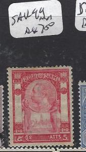 THAILAND (P1112B) RAMA  SAK   99   MNH