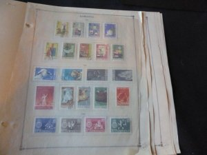 Romania 1962-1965 Stamp Collection many on Scott Intl Album Pages