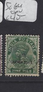 INDIA CHAMBA  (PP2410B)  KGV  9P  SG 64   VFU