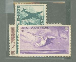 Martinique C10-C12 Mint VF NH