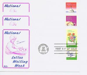 1805-10 Letter Writing Pairs,Bazaar.