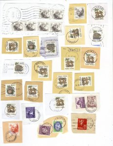 Norway – mix #1 of 1990s postmarks
