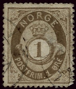 Norway #22 Used F-VF...Chance to buy a Bargain!