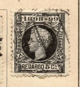 Spain 1872-73 Early Issue Fine Used 5c. NW-16576