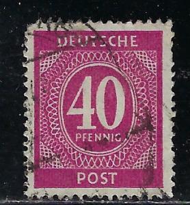 Germany AM Post Scott # 548, used