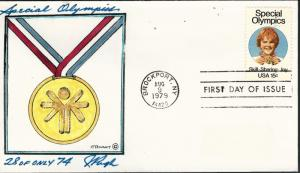 Beautiful Pugh Designed 1979 SPECIAL OLYMPICS #28 of only 74...VERY Rare!