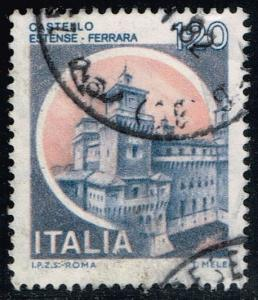 Italy #1416 Estense Castle; Used (0.25)