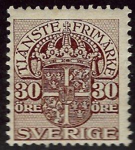 Sweden SC O37 Mint F-VF...Grab a Bargain!