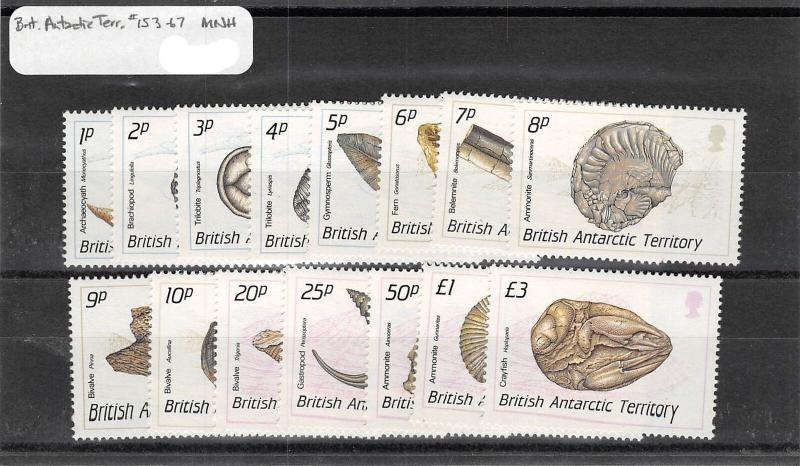 Lot of 37 British Antarctic Territory MNH Mint Stamps Range 16 -167 #139824 X R