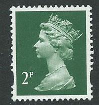 Great Britain - QE II Machin SG Y1668