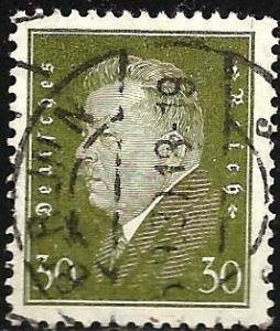 Germany 1928 Scott# 378 Used