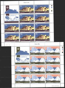 Malta. 1983. ml 680-81. Megaliths, temples, Europe. MNH.