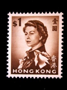 HONG KONG - SCOTT# 212 - MNH - CAT VAL $19.00