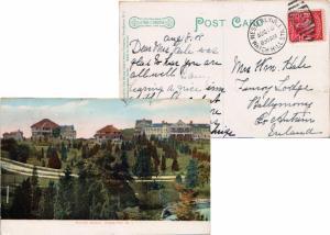 United States Rhode Island Watch Hill Sta. Westerly 1908 numeral duplex  2c W...