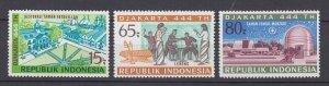 J29334, 1971 indonesia set mlh #800-2 designs