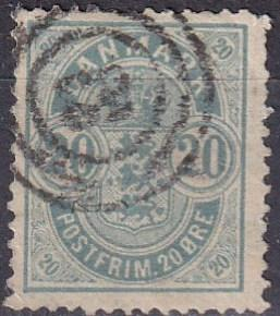 Denmark #48 F-VF Used  (A19307)
