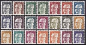 Germany #1028-44  MNH  CV $27.45  (A19516)