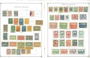 Dominican Rep. 1879-1959 M & U Hinged on Scott International Pages.