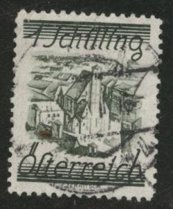 Austria Scott 323 Used stamp from 1925-32 set
