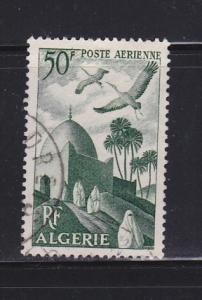 Algeria C8 U Birds, Storks Over Mosque