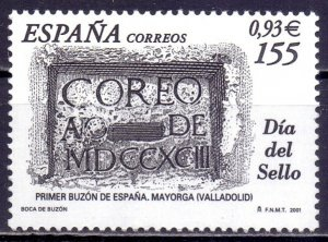 Spain. 2001. 3613. Mail day. MNH.