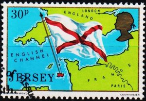 Jersey. 1976 30p S.G.151 Fine Used