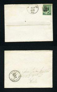 Cover from Norristown, Pennsylvania to Philadelphia, Pennsylvania - 5-29-1888
