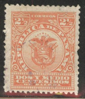 Panama  Scott 188 used Arms stamp