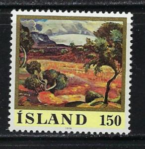 Iceland 489 Hinged 1976 Issue