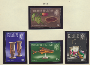 Pitcairn Islands Stamps Scott #91 To 94, Mint Lightly Hinged - Free U.S. Ship...
