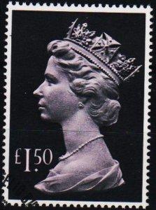 Great Britain. 1977 £1.50 S.G.1026e Fine Used