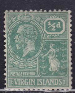 British Virgin Islands 53 Colony Seal 1922