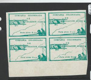 COLOMBIA (PP2609B) A/M SC C11 BL OF 4  MNG