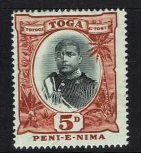 Tonga SG# 46 - Mint Light Hinged - Lot 041716