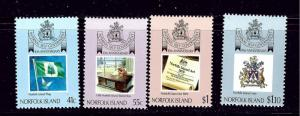 Norfolk Is 457-60 MNH 1989 set