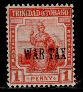 TRINIDAD & TOBAGO GV SG176, 1d red, M MINT.