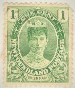 Canada - Newfoundland #104 - USED  - 1911 - Item NEWF090DTS18