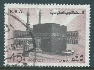 Saudi Arabia, Sc #699, 45h Used