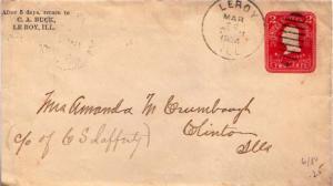 United States, Illinois, Postal Stationery