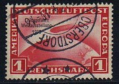 Germany #C43  Chicago Zeppelin Used VF