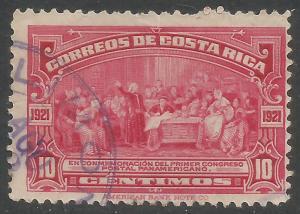 COSTA RICA 123 VFU COLUMBUS X850-4
