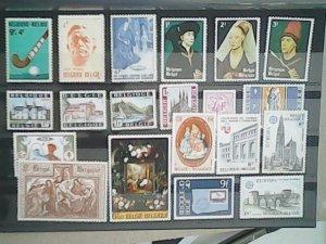 Belgium  MNH  nice lot of stamps