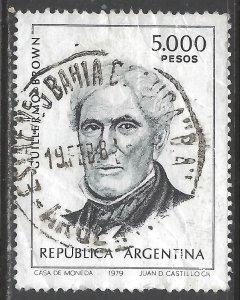 ARGENTINA 1262 VFU Z2826