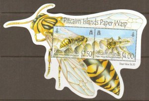 PITCAIRN ISLANDS SGMS828 2011 WASPS  MNH