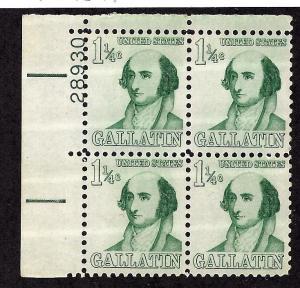 1279 Mint,OG,NH... Plate Block of 4... SCV $3.50