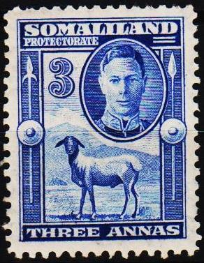 Somaliland Protectorate.1942 3a  S.G.108 Unmounted Mint